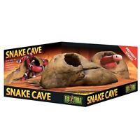 Exo Terra Snake Cave Reptile, Lizard, Gecko, Vivarium, Egg Laying Box