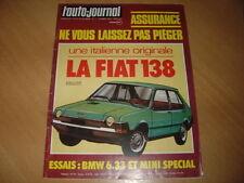 AJ N°7 1977 BMW 633 CSi.Mini Spécial.Land Rover/Toyota