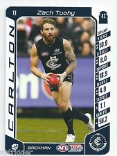 2016 Teamcoach Base Card (11) Zach TUOHY Carlton