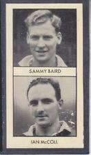 Thomson - World Cup Footballers 1958 # 11 Baird / McColl - Rangers