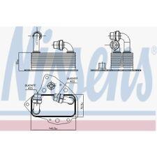 Nissens Ölkühler, Motoröl Alfa Romeo, Fiat, Lancia, Opel, Saab, Suzuki 90803