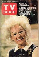 1967 TV Guide February 25 - Phyllis Diller; Alan King Meredith MacRae Models Mod