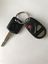 Nissan Pulsar Key And Remote With Transponder - Genuine