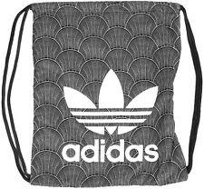 adidas Originals Women's Shell Tile Print Trefoil Logo Gymsack Drawstring Bag