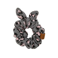 CC C.C Leopard Animal Print Gray Scrunchie Hair Accessory Ponytail Holder