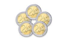 5x 2 Euro Gedenkmünzen Jahrgang und Land unserer Wahl
