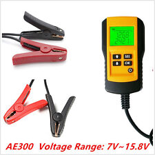 12V Car Battery Tester Automotive Load Analyzer Digital LCD Test Tool Universal