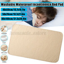 Washable Under Pads Incontinence Bed Pad Elderly Kids Mattress Protector Pad Mat