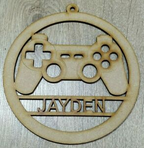 """MDF Dream Catcher """"Personalised PS4 Controller"""" Embellish, Colour, Paint"""