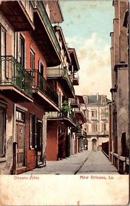 Postcard Orleans Alley in New Orleans, Louisiana~139126