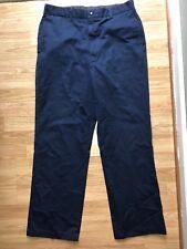 Vtg Coast Guard Trousers Operational Field Blue Uniform Pants 34 Seafarers