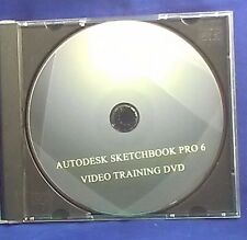 Sketchbook pro 6 training dvd learn  this amazing digital art prog, by Autodesk