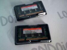 2x RAM 256 MB PC2700S-25330 memorie per portatili DDR 333Mhz CL2,5