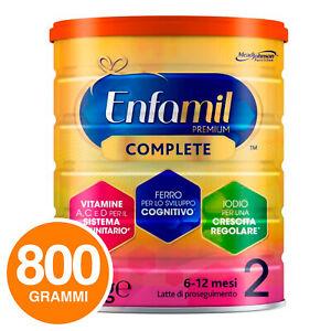 Enfamil Latte in Polvere Premium Complete 2 6-12 mesi Mead Johnson DHA 800g