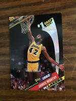 1992-93 Topps Archives #2 82 #1 Draft Pick James Worthy Los Angeles Lakers NrMt