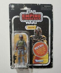 Hasbro Kenner Star Wars Retro Collection Boba Fett 3.75 Figure NEW IN HAND