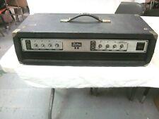 VINTAGE KUSTOM II BASS AMP HEAD POWERS ON REPAIR