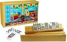 Cuban Dominoes Game Doble Nine , Domino Cubano + 4 Holders Free