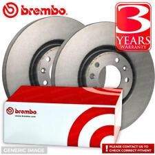 Brembo Rear Axle Brake Disc Set Seat Alhambra Altea Altea XL Leon Toledo