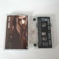 SHERYL CROW SELF TITLED S/T CASSETTE TAPE 2ND ALBUM A&M (1996)