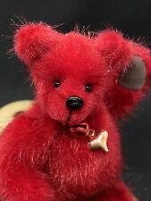 Handmade Miniature Teddy Bear. Bears By Ann. Free Uk P&P