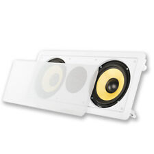 """Acoustic Audio HD6c In-Wall 6.5"""" Center Channel Speaker Home Theater Surround"""