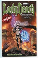 Lady Death Chaos Rules #1 Preview EMERALD Variant Dheeraj Verma Cover 75/75 1/1