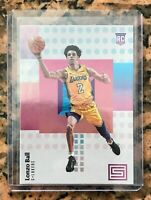 2017-18 Panini Status #118 Lonzo Ball RC MINT Psa ??? In Top Loader 🔥🔥🏀🏀