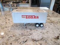 Vintage Tonka Toys Metal Semi Mini Truck Trailer