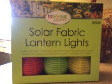 "Chinese Battery Powered Colorful Lanterns 3"" LED Hanging Garden Lights Lamp NIB"