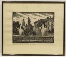 Künstlerische Grafiken & Drucke mit Landschafts-Motiv und Holzschnitt-Technik