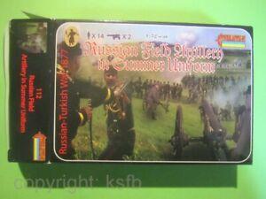 1:72 Strelets #112 Rußland Türkei Krieg türkische Artillerie auch US Bürgerkrieg