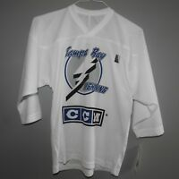 NHL CCM Tampa Bay Lightning Hockey Jersey NEW Youth S/M