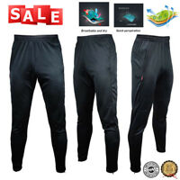 Mens Slim Fit Tracksuit Sport Gym Skinny Jogging Joggers Sweat Pants Trousers US