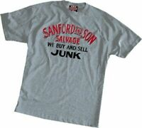Adult Men's Sitcom Comedy Sanford and Son 'Buy and Sell Junk' Grey T-shirt Tee