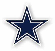 "DALLAS COWBOYS (STAR) *BIG* 12"" MAGNET CAR AUTO FRIDGE METAL NFL FOOTBALL"