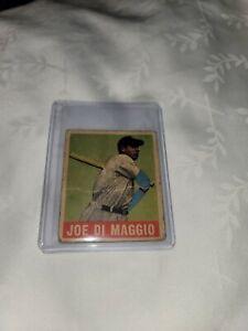 1948 Leaf Joe DiMaggio - #1 - New York Yankees - Rare Original - No Reserve!