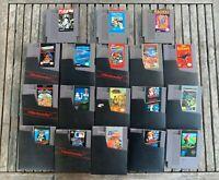NES Games / Video Game lot / Joe & Mac, Mario Brothers, Gyromite etc.