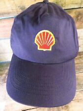 SHELL Gas Oil Log Station Company Snapback Adjustable Adult Hat Cap