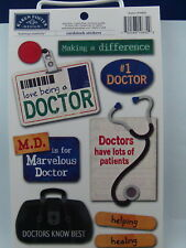 NEW KAREN FOSTER DESIGN STICKERS DOCTOR 10632  934