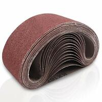 Coceca 3x18 Inches Aluminum Oxide Sanding Belt, 21 Pack Sanding Belts (3 Each