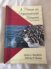 Un primer sul comportamento organizzativo da James L. scala, Anthony F. BUONO.
