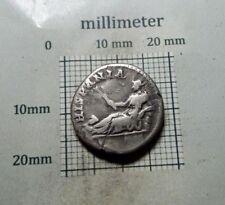 Antique Coin SILVER HADRIAN Hadrianus HISPANIA ROMAN DENARIUS AD 138-161 # 0306