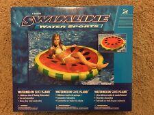 New listing Swimline Watermelon Slice Pool Island #90544