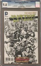 Justice League of America #2 Sketch Variant CGC 9.8