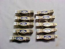 Qty of (10) Bundles/Packs/Lots of Vintage Cigar Bands - Blue Seal New Old Stock