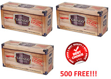 1000 + 500FREE!!! (3×500) EMPTY CIGARETTE FILTER TUBES GRINGO MAKE YOUR OWN