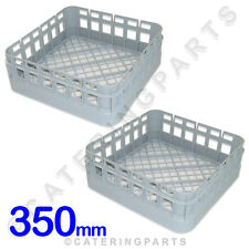 2 X CLASSEQ CLASSIC 350 x 350 CUP DISH-WASHER GLASS-WASHER RACKS BASKETS 400SGBP