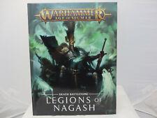 Warhammer Age of Sigmar: Battletome Legions of Nagash 91-04-60 book h/c