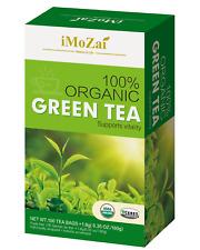 IMOZAI Organic Green Tea 100 Tea Bags